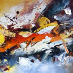 Intense Palette Knife Abstract