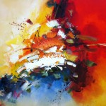 Palette Knife Abstract I